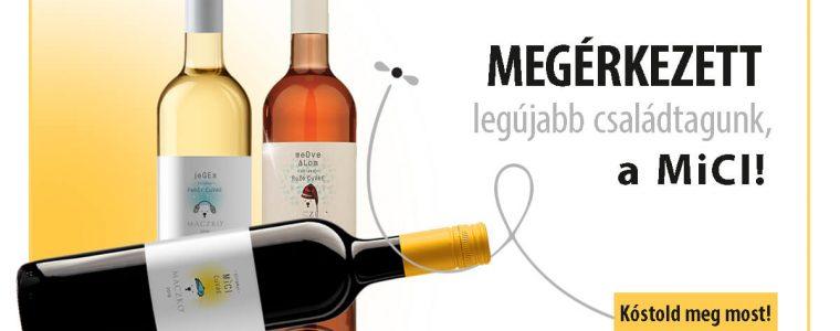 Maczkó Mici 2018 - könnyed, gyümölcsös vörösbor