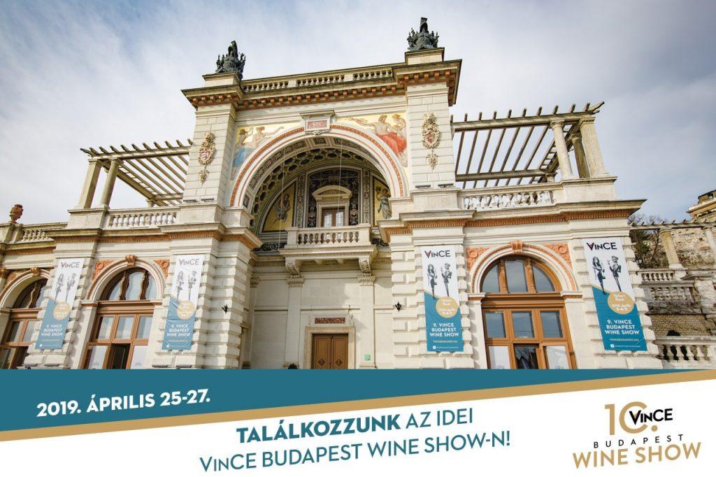 Vince Budapest Wine Show – április 25-27.