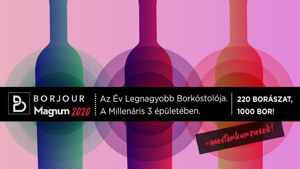 Borjour Magnum 2020 –Az év legnagyobb borkóstolója!